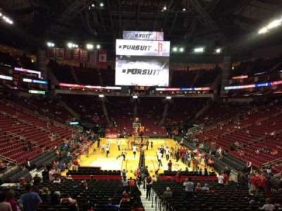 Toyota Center section 114