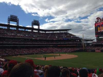 Citizens Bank Park, section: 111, row: 32, seat: 4
