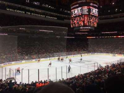 Wells Fargo Center, section: 122, row: 21, seat: 5