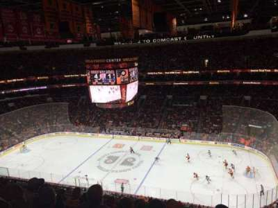 Wells Fargo Center, section: 215, row: 12, seat: 12