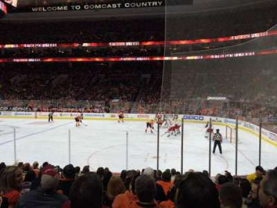 Wells Fargo Center, section: 115, row: 12, seat: 13