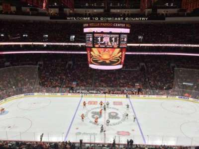 Wells Fargo Center, section: 213, row: 6, seat: 5