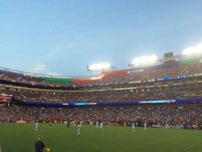FedEx Field section 118