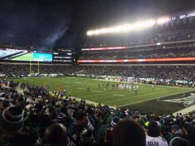 Lincoln Financial Field, section: 106, row: 23, seat: 5