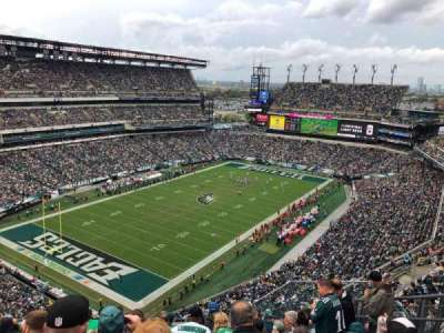 Lincoln Financial Field, section: 218, row: 14, seat: 6