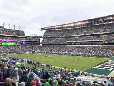 Lincoln Financial Field section 125