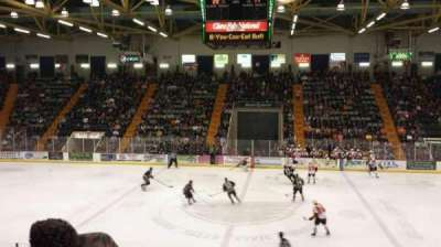 Glens Falls Civic Center, section: A, row: 12, seat: 3