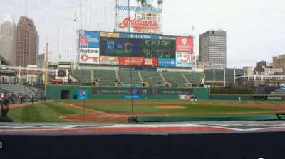 Progressive Field, section: 151, row: G, seat: 5