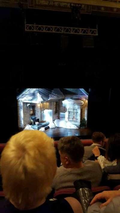 Broadhurst Theatre, section: Center Mezzanine, row: D, seat: 102