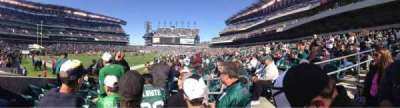 Lincoln Financial Field section 114