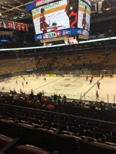 Air Canada Centre, section: 118, row: 26, seat: 3