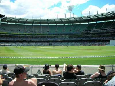Melbourne Cricket Ground section GENADM