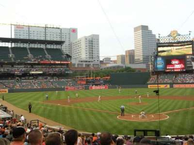 Oriole Park at Camden Yards, section: 38, row: 25, seat: 1