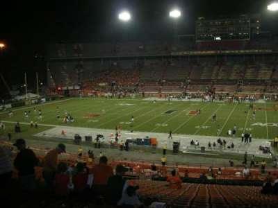 Miami Orange Bowl section E