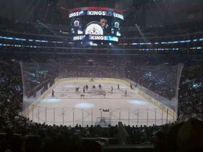 Staples Center section 217