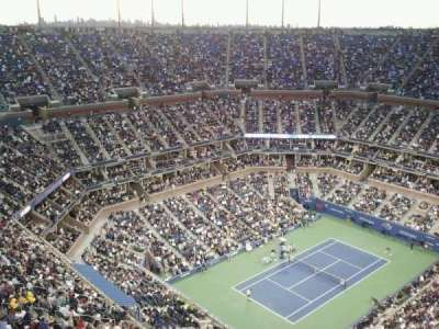 Arthur Ashe Stadium section Broadcast