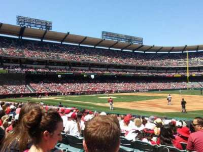 Angel Stadium, section: F127, row: N, seat: 9