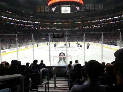 Staples Center, section: 106, row: 9, seat: 21
