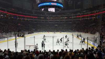 Staples Center, section: 115, row: 13, seat: 17