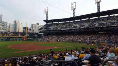 PNC Park, section: 127, row: H, seat: 3