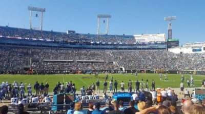 EverBank Field, section: 37, row: J, seat: 17