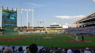 Kauffman Stadium section 123