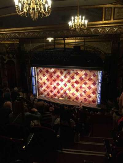 Brooks Atkinson Theatre section Rear Mezz Right
