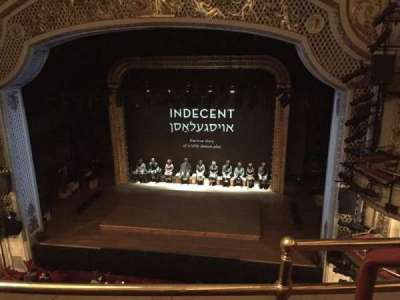 Cort Theatre, section: Balcony, row: B, seat: 114