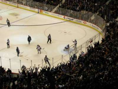 Rogers Arena, section: 319, row: 11, seat: 8