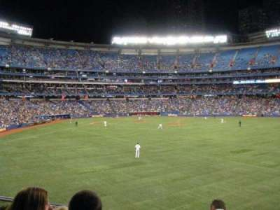 Rogers Centre, section: 205, row: 9