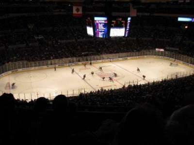 Madison Square Garden, section: 426, row: D