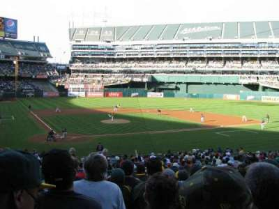 Oakland Alameda Coliseum, section: 115, row: 28, seat: 9