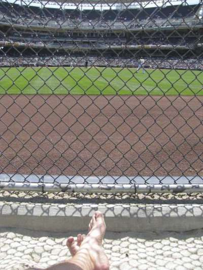 PETCO Park, section: Beach Club, seat: 10