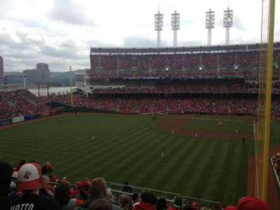 Great American Ball Park section 404