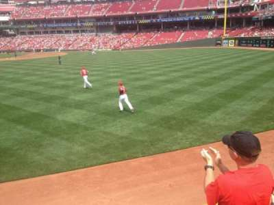 Great American Ball Park, section: 144, row: C, seat: 18
