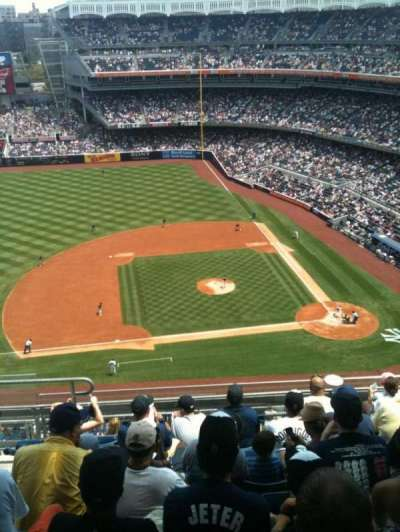 Yankee Stadium section 424