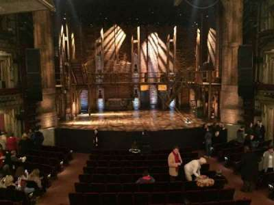 CIBC Theatre, section: Dress Circle C, row: A, seat: 204
