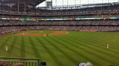 Miller Park, section: 201, row: 4, seat: 3