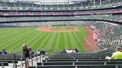 Miller Park, section: 234, row: 15, seat: 24