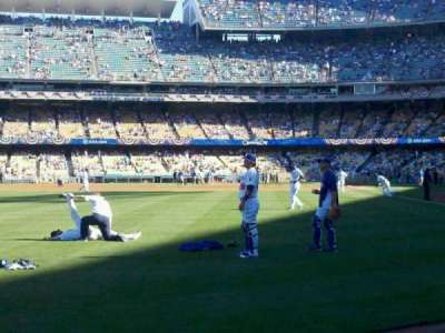 Dodger Stadium, section: 53FD, row: AA, seat: 1