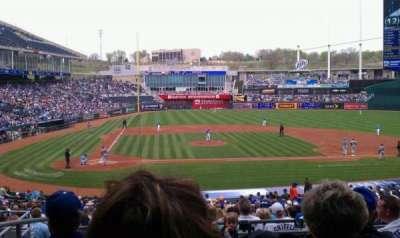 Kauffman Stadium, section: 232, row: gg, seat: 1