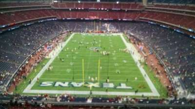 NRG Stadium section 647
