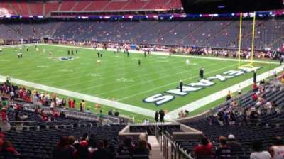 NRG Stadium, section: 121, row: JJ, seat: 1