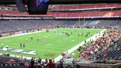 NRG Stadium, section: 113, row: JJ, seat: 27