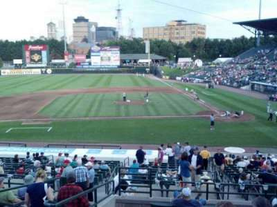Frontier Field, section: 221, row: I, seat: 8