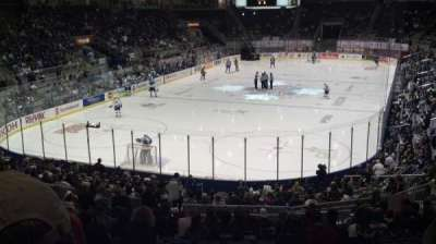 Ricoh Coliseum, section: 114, row: R, seat: 13