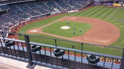 Citi Field, section: 406, row: 2, seat: 12