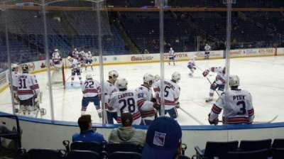 KeyBank Center, section: 120, row: 6, seat: 15