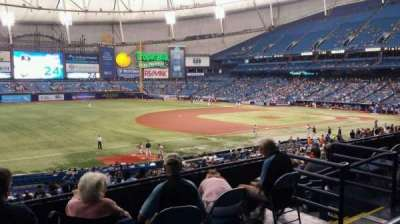 Tropicana Field section 129