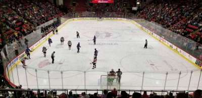 Floyd L. Maines Veterans Memorial Arena, section: 8, row: K, seat: 14